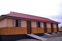 Completed first phase of construction of the vocational school. October 2016